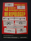 80 de tipuri de  avioane  rusesti -  40 de constructori
