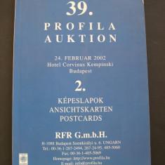 Catalog  de  licitatie  39/2. Profila Auktion