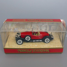 Stutz Bearcat, Matchbox Yesteryear - Macheta auto