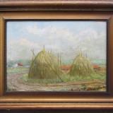 Capite de fan la marginea satului - semnat  Hollosy 1912