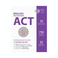 ACT English Practice Book - Carte in engleza