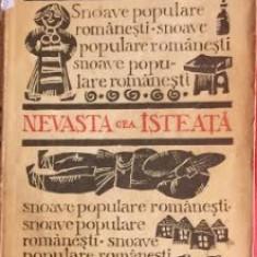 Nevasta cea isteata : snoave populare romAnesti - Carte Basme