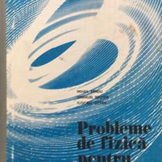 PROBLEME DE FIZICA PENTRU GIMNAZIU - Sandu Mihail - Culegere Fizica