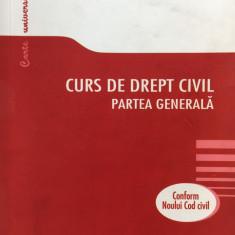 CURS DE DREPT CIVIL. PARTEA GENERALA - Boroi, Anghelescu 2011 - Carte Drept civil