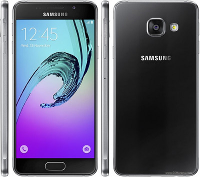 Samsung Galaxy A3 (2016) A310F Black single sim Sigilat Nou foto
