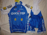 Echipament ciclism Quick-Step Floors 2017 set pantaloni si tricou costum Nou