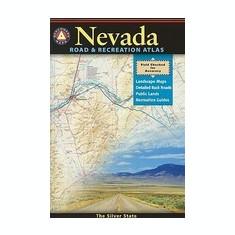 Nevada Road & Recreation Atlas - Harta Rutiera