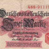 GERMANIA 2 marci 1914 VF+++!!!