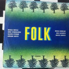 Muzica folk compilatie romaneasca disc vinyl lp muzica folk rock electrecord, VINIL