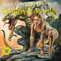 Boris Vallejo & Julie Bell's Fantasy Wall Calendar 2017 - Carte in engleza