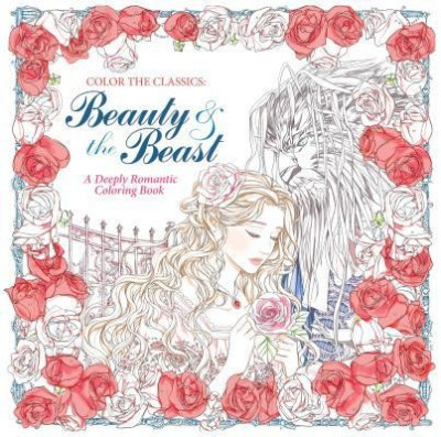 Color the Classics: Beauty and the Beast: A Deeply Romantic Coloring Book foto