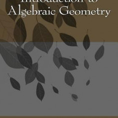 Introduction to Algebraic Geometry - Carte in engleza