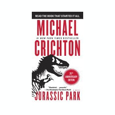 Jurassic Park: A Novel - Carte in engleza