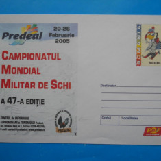 HOPCT PLIC 1765 CAMPIONATUL MONDIAL MILITAR DE SCHI 2005 PREDEAL