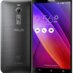 ASUS Zenfone 2 ze551ml 16GB 4GB Ram Dual Sim Black Sigilat Nou - Telefon Asus, Gri, Neblocat
