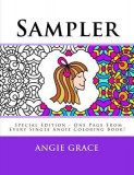 Sampler (Special Edition - One Page from Every Single Angie Coloring Book!)