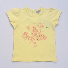 Tricou cu imprimeu fluturasi in fata