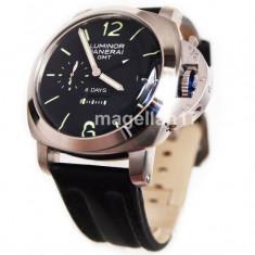 Officine Panerai 1950 8 Days GMT ! ! ! Calitate Premium ! - Ceas barbatesc Panerai, Lux - sport, Mecanic-Automatic, Inox, Piele, Data