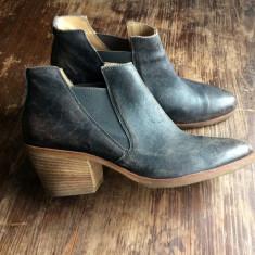 CIOCATE Botine Pantofi Dama marca Paul Green - Botine dama Paul Green, Culoare: Gri, Marime: 39