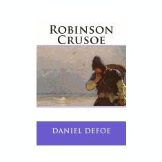 Robinson Crusoe - Carte in engleza