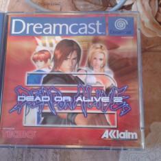 Joc pentru consola retro, SEGA DREAMCAST, PAL, DEAD OR ALIVE - Jocuri Sega, Actiune, 12+, Single player