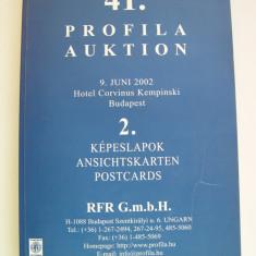Catalog  de  licitatie  41/2.  Profila  Auktion
