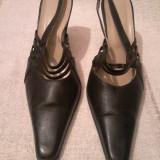 Pantof dama elegant din piele marimea 39 - Reducere