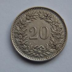 20 RAPPEN 1944 ELVETIA, Europa