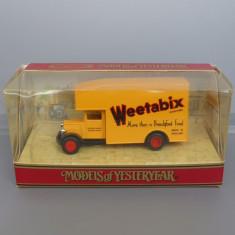 Morris Courier 1931 Weetabix, Matchbox Yesteryear