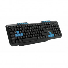 Tastatura multimedia LogiStep USB Negru