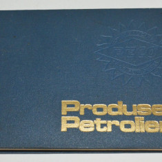 Produse petroliere ( catalog) - 1981 Peco - Carti Transporturi