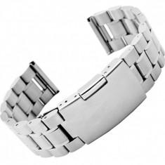 Bratara ceas otel inoxidabil curea ceas metal 18mm 20mm 22mm 24mm - Curea ceas din metal