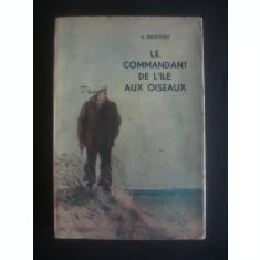 S. DOKOVSKI - LE COMMANDANT DE L'ILE AUX OISEAUX  {1947, limba franceza}