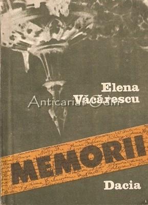 Memorii - Elena Vacarescu foto mare