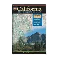 Benchmark California Road & Recreation Atlas - Harta Rutiera