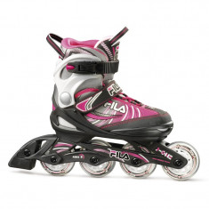 Role copii FILA J-One Black/Grey/pink
