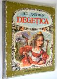 Carte povesti - Degetica - cartonata - uzata - 1988