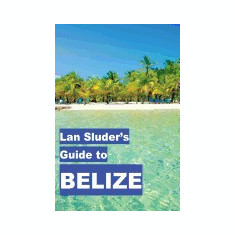 LAN Sluder's Guide to Belize - Carte in engleza