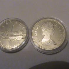 1 dollar Canada UNC 1984, America de Nord