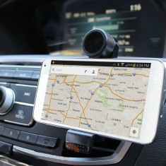 Suport grila ventilatie Universal Auto negru Car SUV Air Vent Holder GPS Samsung