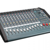 MIXER PROFESIONAL 12 CANALE DE PUTERE MARE 1300 WATT ,USB MP3 PLAYER,EFECTE VOCE