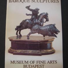 Colectia de sculptura baroca din Muzeul de Arte Plastice din Budapesta - Carte sculptura