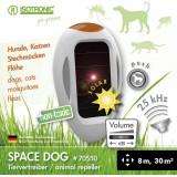 Dispozitiv portabil cu ultrasunete si solar anti pisici caini SpaceDog 70550