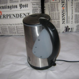 Fierbator electric inox - Fierbator apa, 1, 7 L, 2200 W
