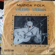 VALERIU STERIAN -MUZICA FOLK, VINIL