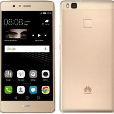 Huawei P9 LITE Dual simm gold, blck nou la cutie, 2ani !!PRET:850lei - Telefon Huawei, Auriu, Nu se aplica, Neblocat, Fara procesor