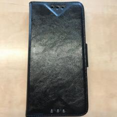 Husa HTC ONE M8 Flip Case Slim Inchidere Magnetica Black