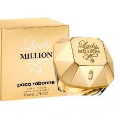 Parfum Paco Rabanne Lady Million 80 ML - SUPER PRET - Parfum femeie Paco Rabanne, Altul, 90 ml