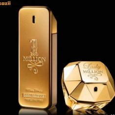 OFERTA !!! Set parfumuri Paco Rabanne One Million 100 ml + Million Lady 80 ml