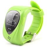 Resigilat! Ceas Telefon Smartwatch cu GPS Tracker pentru copii iUni U11, Alarma SOS, Green